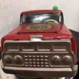 1950年代マルサン商店製ブルドックトイ ブリキ郵便車 フォード