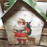 クリスマス飾り   ブリキのお家